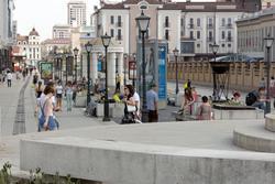 Вид на ул. Петербургскую (Казань)