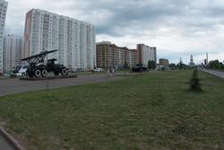 Аллея военной техники времен Великой Отечественной войны, г. Курск, июнь 2015