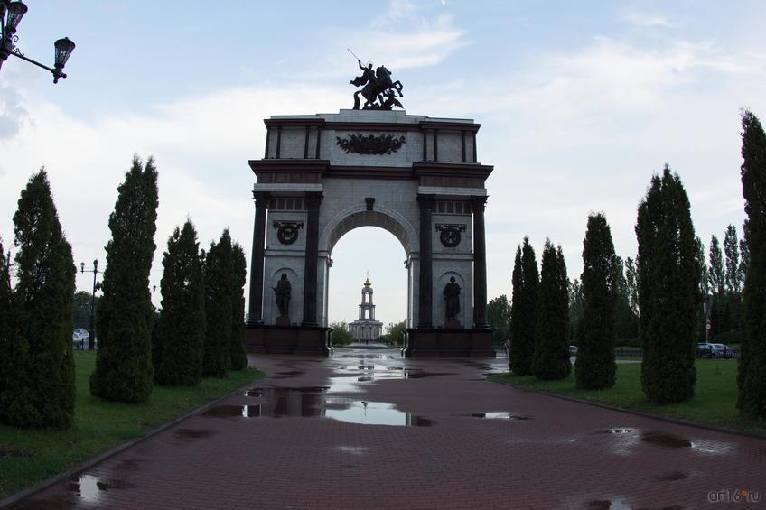 Фото №828777. Триумфальная арка, Курск, июнь 2015