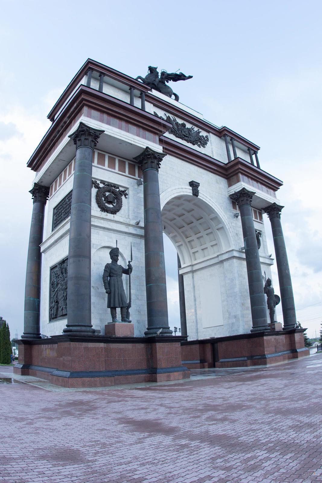 Фото №828819. Триумфальная арка, Курск, июнь 2015