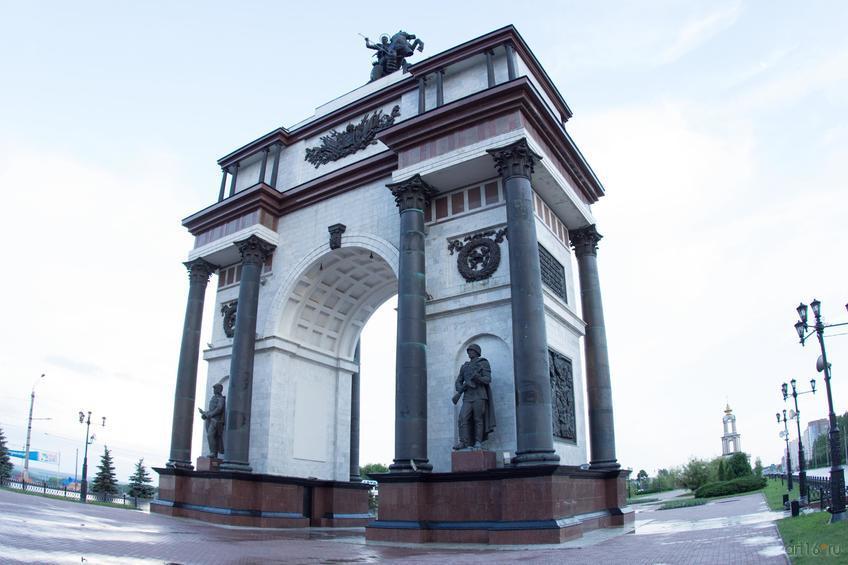 Фото №828831. Триумфальная арка, Курск, июнь 2015