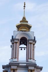 Трёхъярусный храм-колокольня святого Георгия Победоносца (третий ярус)