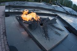 Вечный огонь. Мемориальный Ансамбль «Курская дуга»