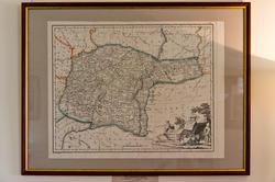 Карта Оренбургской губернии. Российски атлас А.Вильбрехта, 1800г.