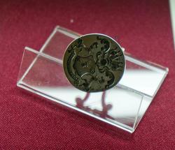 Печатка с гербом Воронцовых, сталь