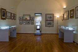 Фрагмент экспозиции выставки «Державин, бич вельмож...»