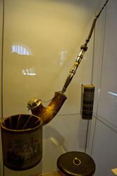 Трубка с чубуком кон 18 в./Табачница, 1 -я чет 19 в.