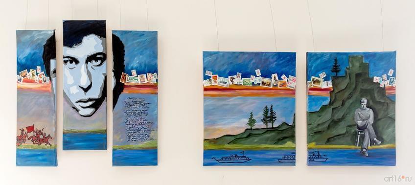 Фото №835215. Татьяна Строганова.  «Доктор Живаго» {триптих), «Урал впервые» {диптих)