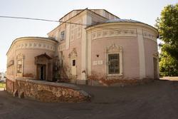 Остатки Гостинодворской церкви (размещен Государственный архив РТ)