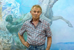 Озад Гарифович Хабибуллин. Выставка в редакции Шахри Казан