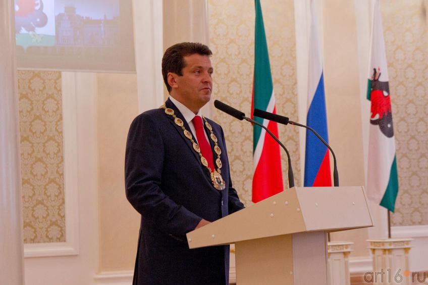 Ильсур Раисович Метшин, Мэр города Казани