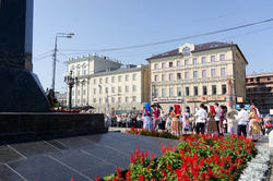 Праздник Поэзии у памятника Г.Тукая