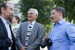 Мусагит Хабибуллин (в центре), справа — Роберт  Миннуллин