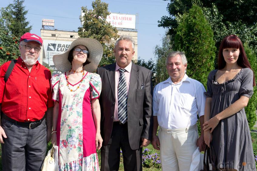 Б. Вайнер, Н.Ахунова, В.Нуриев, ..., Д.Садыкова::30 августа 2011. День города и Республики Татарстан