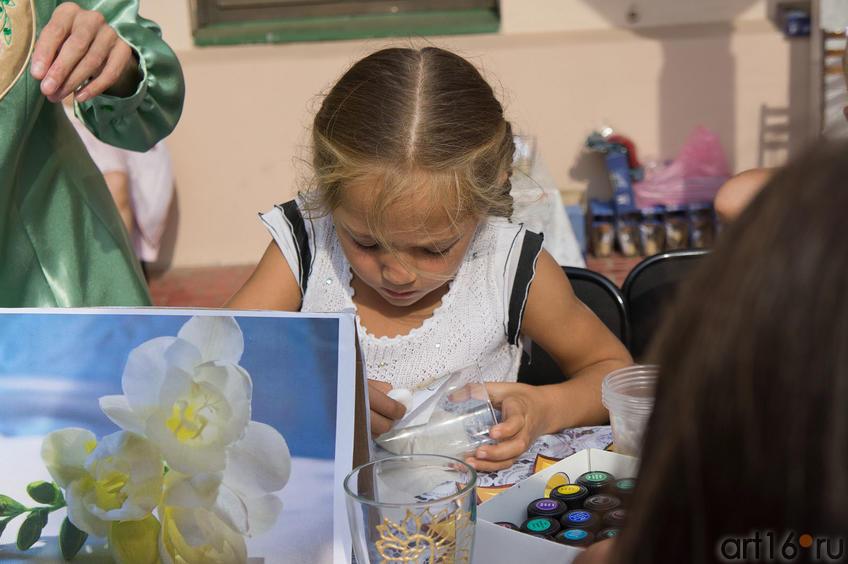 Мастер-класс: роспись по стеклу . 3 сентября 2011