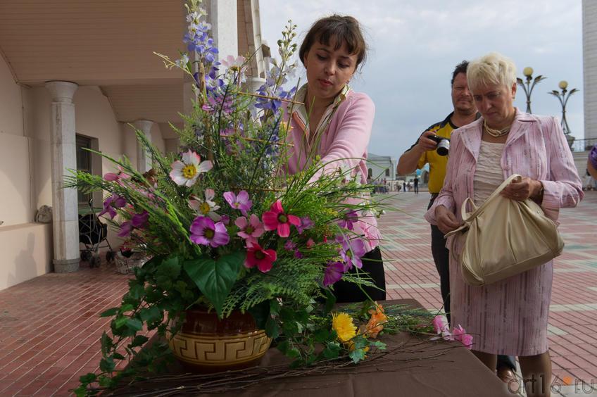 Алсу Биктимерова: мастер-класс по флористике «Краски уходящего лета»