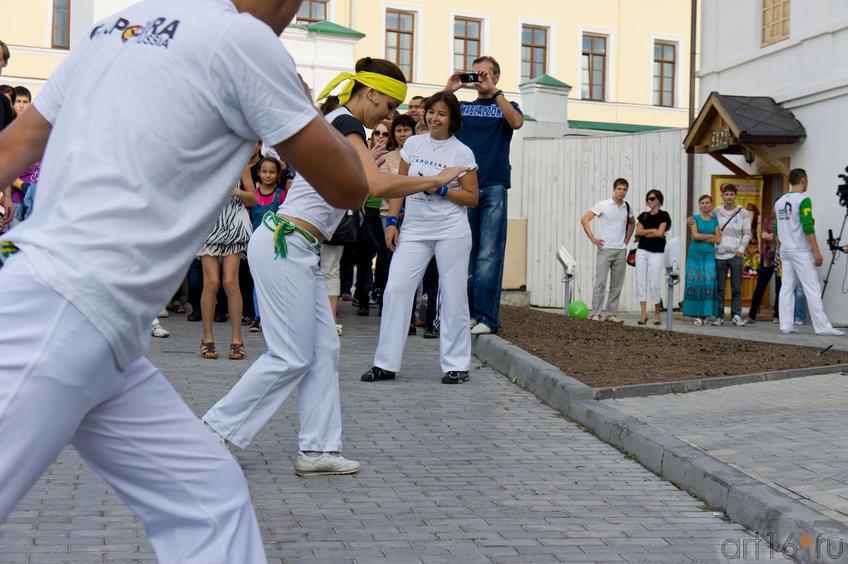 Мастер-класс от Казанского Центра «REAL Capoeira»