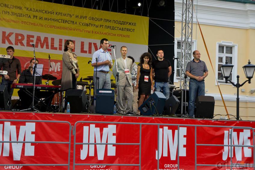 Церемония открытия на главной площадке фестиваля «Пушечный двор»