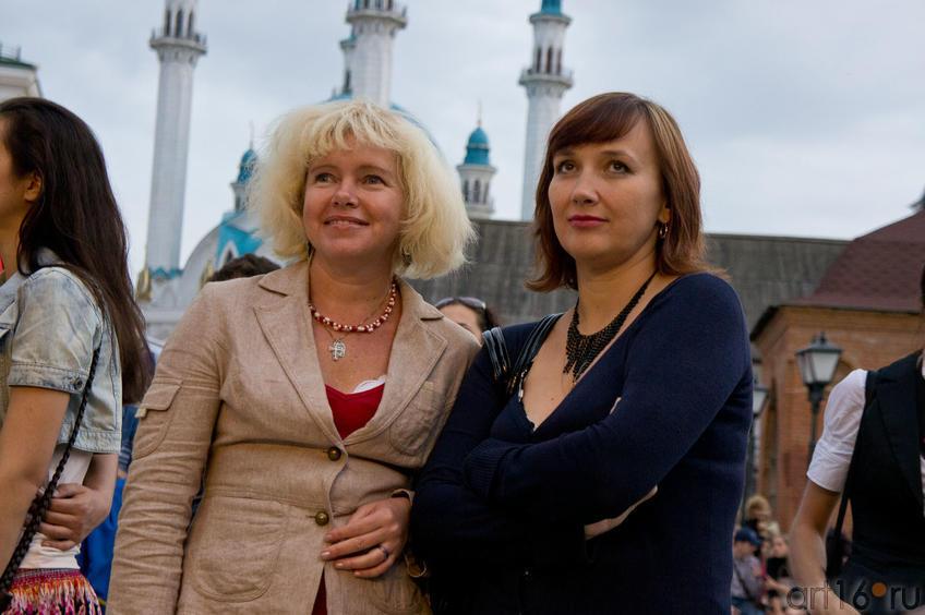 Ольга и Марина на фестивале Современной Культуры Kremlin LIVE'11