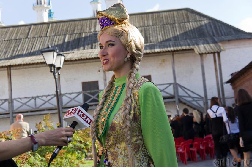 Айгуль Хайри,  исполнительница роли Алтынчач::Опера «Алтынчач» Н.Жиганова, либретто М.Джалиля