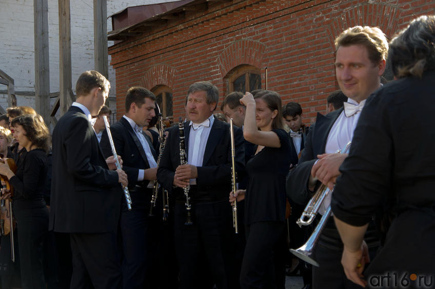 Музыканты Государственного симфонического оркестра РТ::Опера «Алтынчач» Н.Жиганова, либретто М.Джалиля