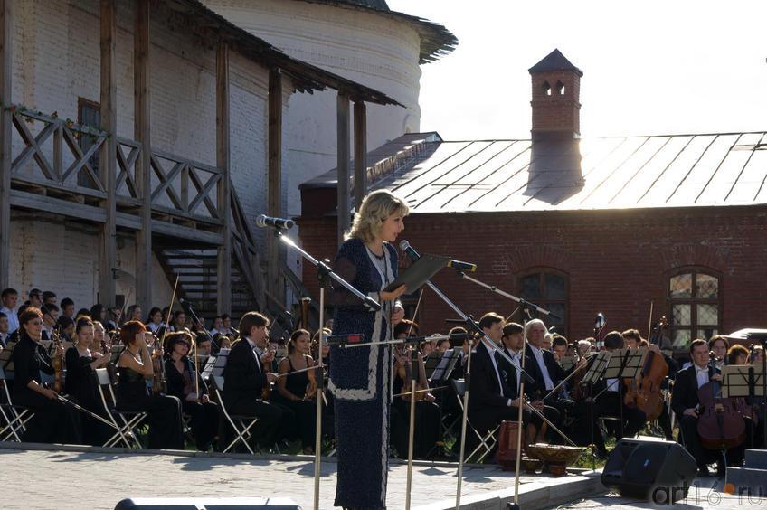 Лилия Аппакова объявляет о начале постановки оперы «Алтынчач »::Опера «Алтынчач» Н.Жиганова, либретто М.Джалиля