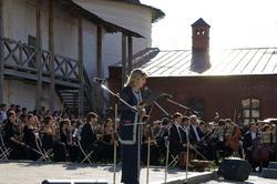 Лилия Аппакова объявляет о начале постановки оперы «Алтынчач »