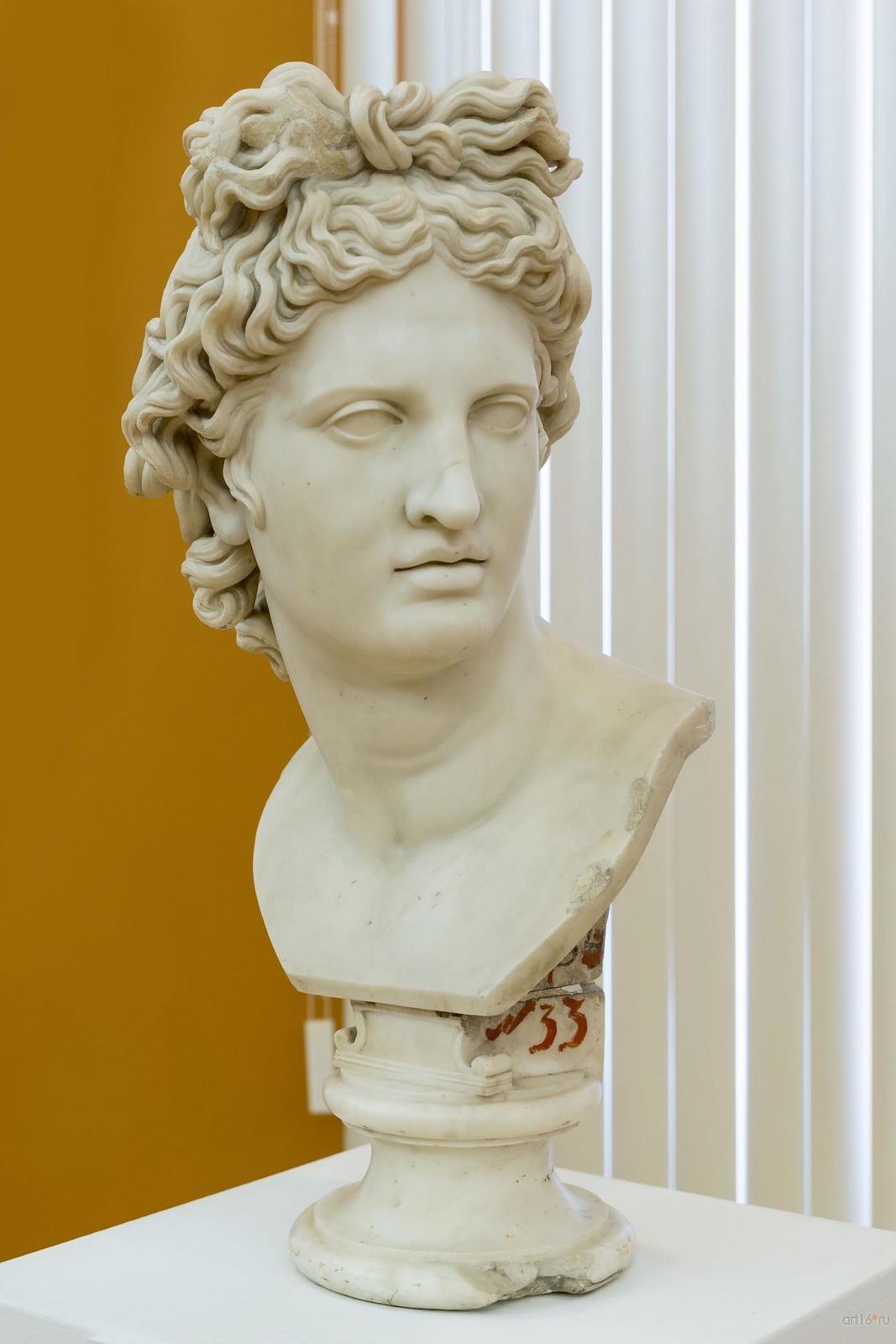 Фото №848329. КАРЛО АЛЬБАЧИНИ 1734. Рим — 1813. Рим. Аполлон Бельведерский. Мрамор