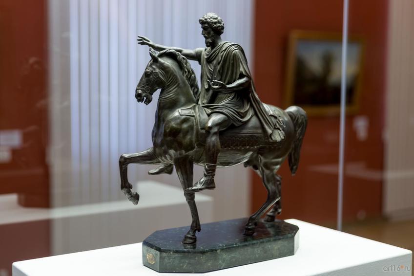 Фото №848366. РИМСКИЙ СКУЛЬПТОР второй половины XVIII века. Марк Аврелий на коне