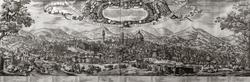 ВАЛЕРИО СПАДА. Панорама Флоренции. Около 1650