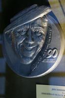 Ювелирная медаль Юрию Никулину, 2011. Дресвянников А.А., Казань