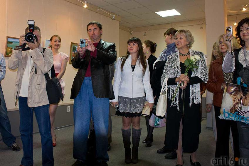 Фото №85033. Открытие выстаки ''Достижения Художников выходного дня РТ — 2011''