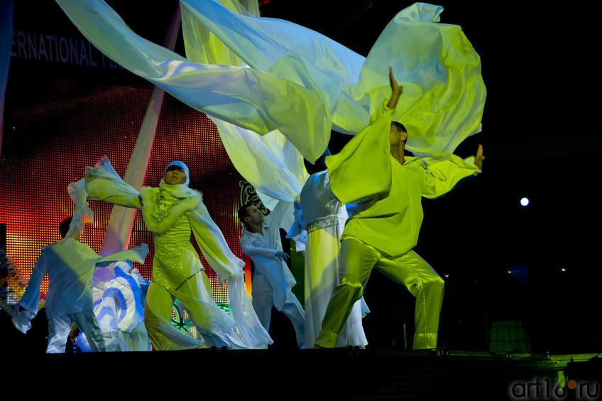 Начало церемонии торжественного закрытия  VII КМФМК::Итоги VII Казанского международного фестиваля