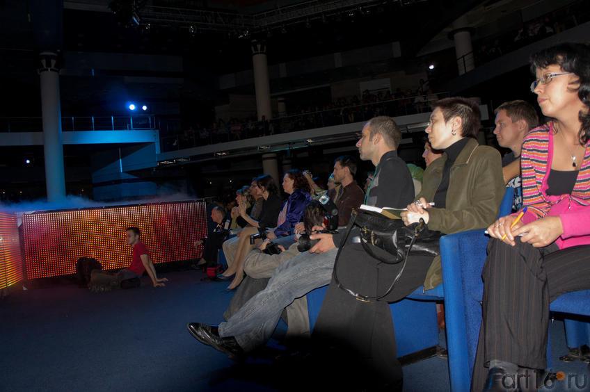 В КРК «Пирамида» на церемонии награждения победителей VII КМФМК ::Итоги VII Казанского международного фестиваля