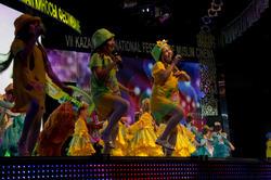 Детский  хореографический ансамбль. Композиция о Шурале