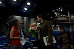 Интервью после церемонии награждения