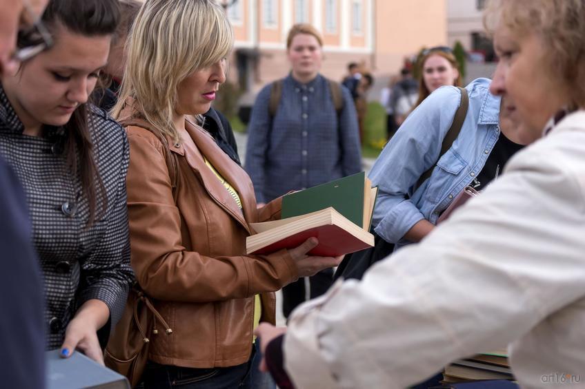 ::«Литературный дворик» в Казанском Кремле