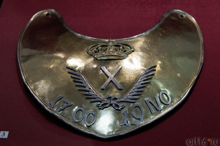 Знак обер-офицерский, Гвардии императора Петра I
