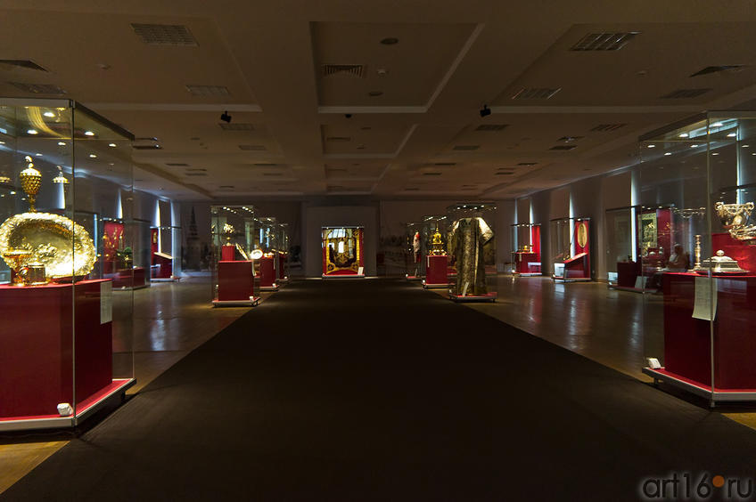 Фрагмент экспозиции выставки «Кремль от Московского царства до последней коронации»
