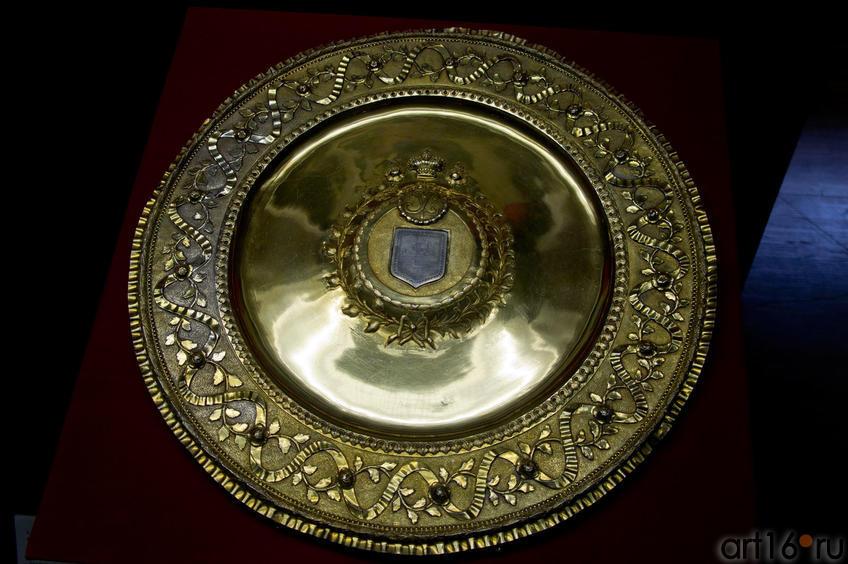 Блюдо с гербом Царевококшайска
