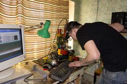 Изготовление ювелирного цилиндрического штампа на фрезерном станке 4d