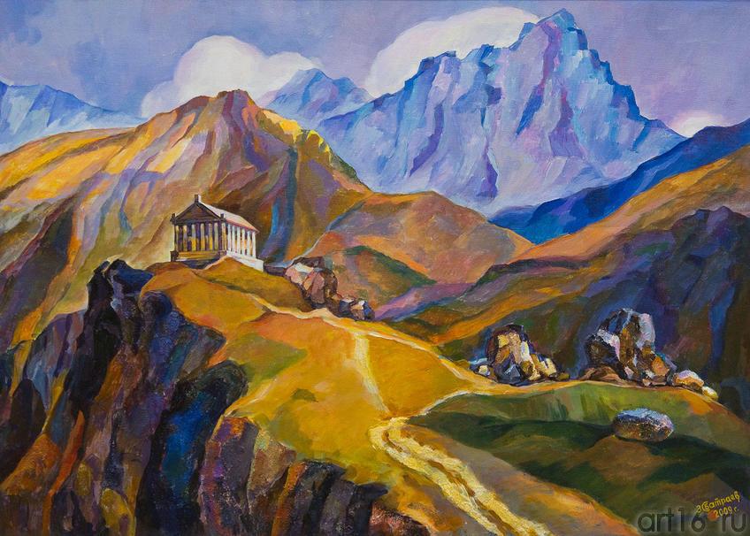 Мелодии гор. Гарни. Армения. 2009.  Батраев З.С., 1936