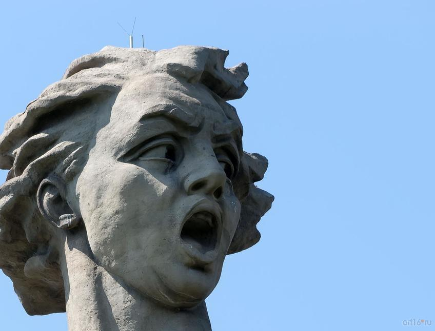 Фото №858271. Скульптура «Родина-мать зовет!» (фрагмент)