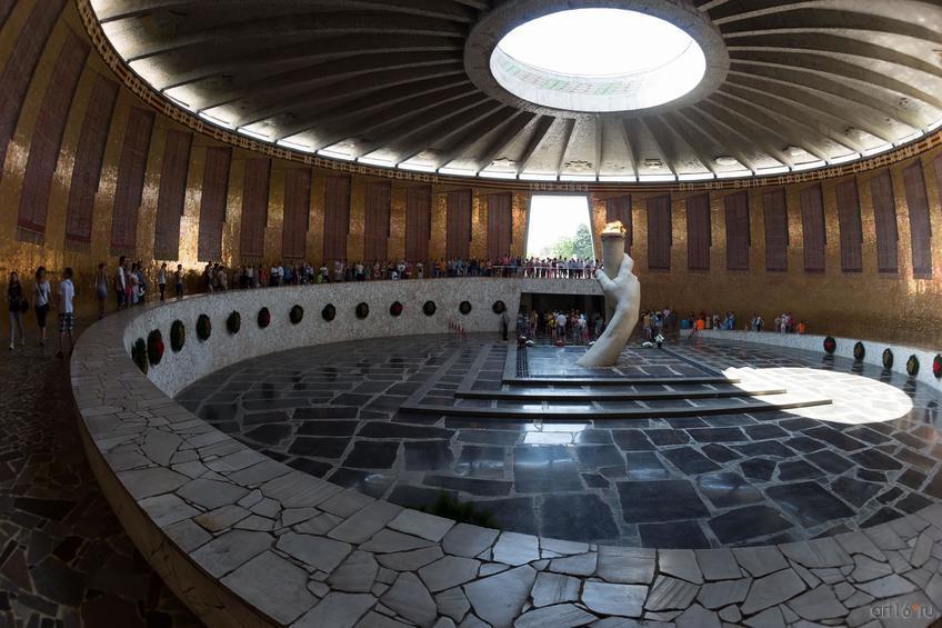 Зал Воинской славы (Мамаев курган)::Волгогорад. 2015