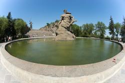 Площадь «Стоявших насмерть», Мамаев курган
