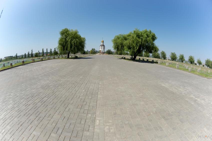 Фото №858607. Часовня на воинском мемориальном кладбище, Мамаев курган