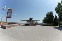 Макет ближнего бомбардировщика Су-2