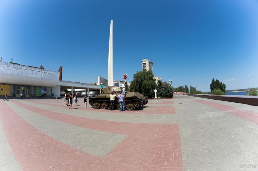 Музей военной техники под открытым небом. Музейный комплекс «Сталинградская битва»::Волгогорад. 2015