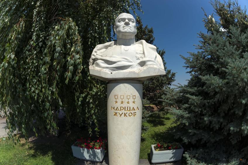 Бюст маршалу Жукову::Волгогорад. 2015