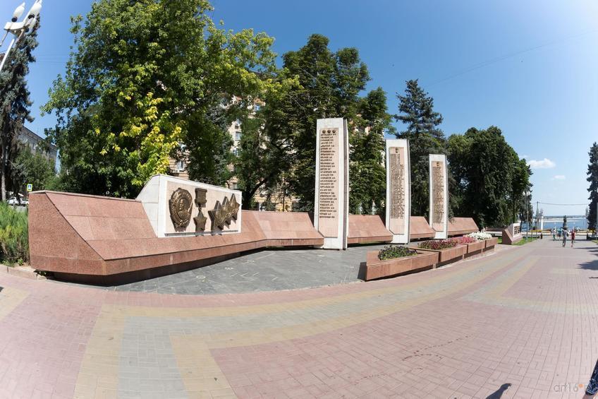 Аллея Героев, г. Волгоград, август 2015::Волгогорад. 2015